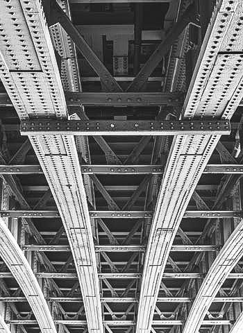 Begutachtung einer Brücke in Essen durch die IBE Industrieservice GmbH