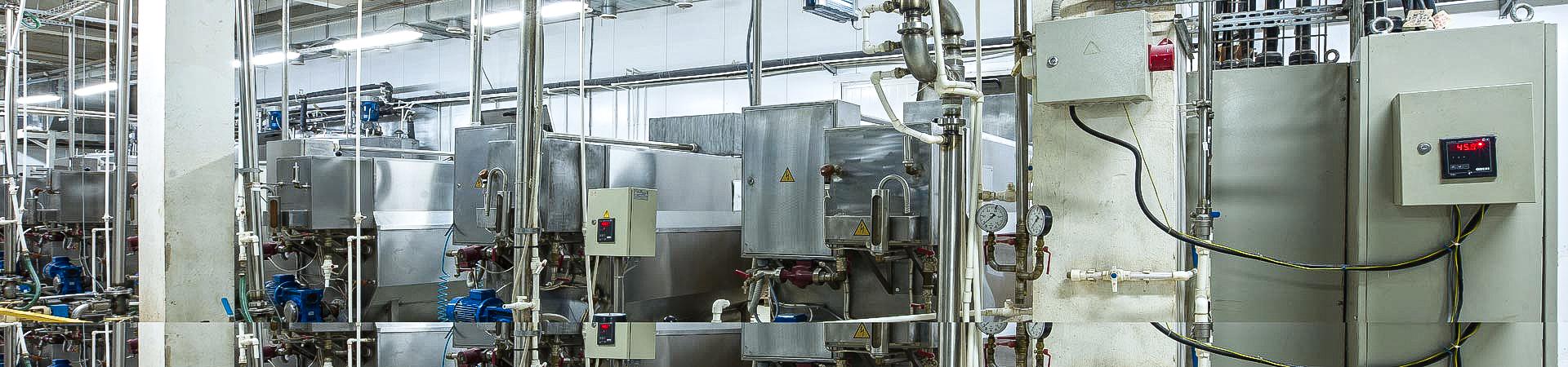 Produktionshallen - IBE Industrieservice