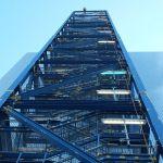 Korrosionsschutz an einem Treppenturm