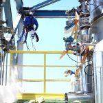 Korrosionsschutzarbeiten am Stahlbau